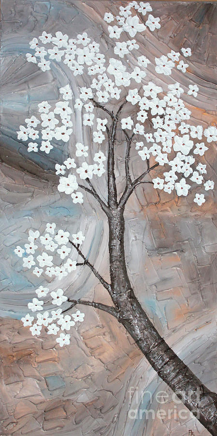 Flowers Painting - Cherry Blossom by Home Art