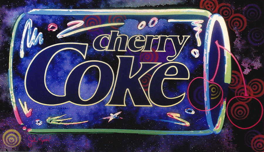 Cherry Coke 8 Digital Art