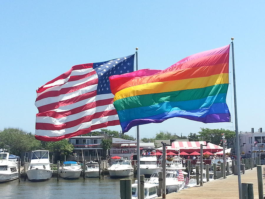 4th Of July Photograph - Cherry Grove Fire Island by French Toast