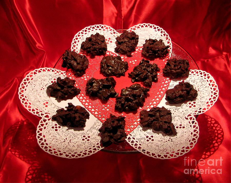 Cherry Pecan Chocolates Photograph