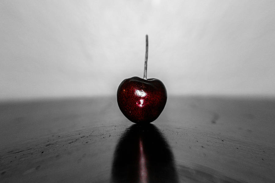 Cherry Red Photograph  - Cherry Red Fine Art Print