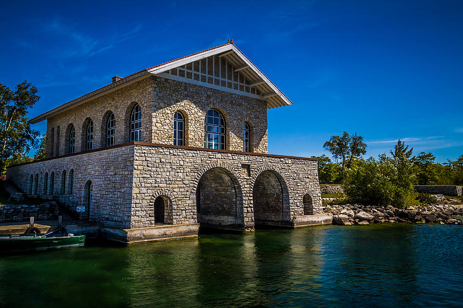 Chester Thordarson Boathouse  Photograph