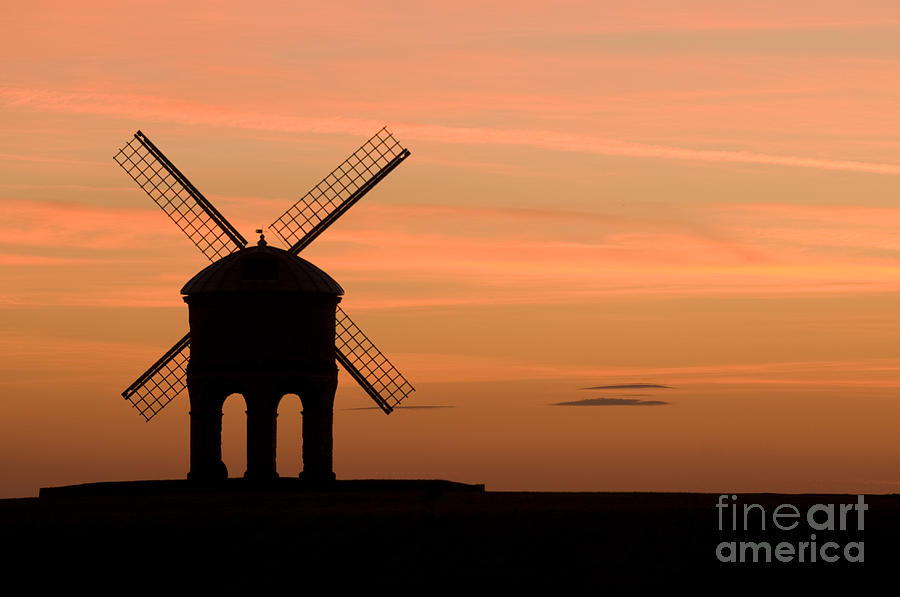Chesterton Sunset Photograph  - Chesterton Sunset Fine Art Print