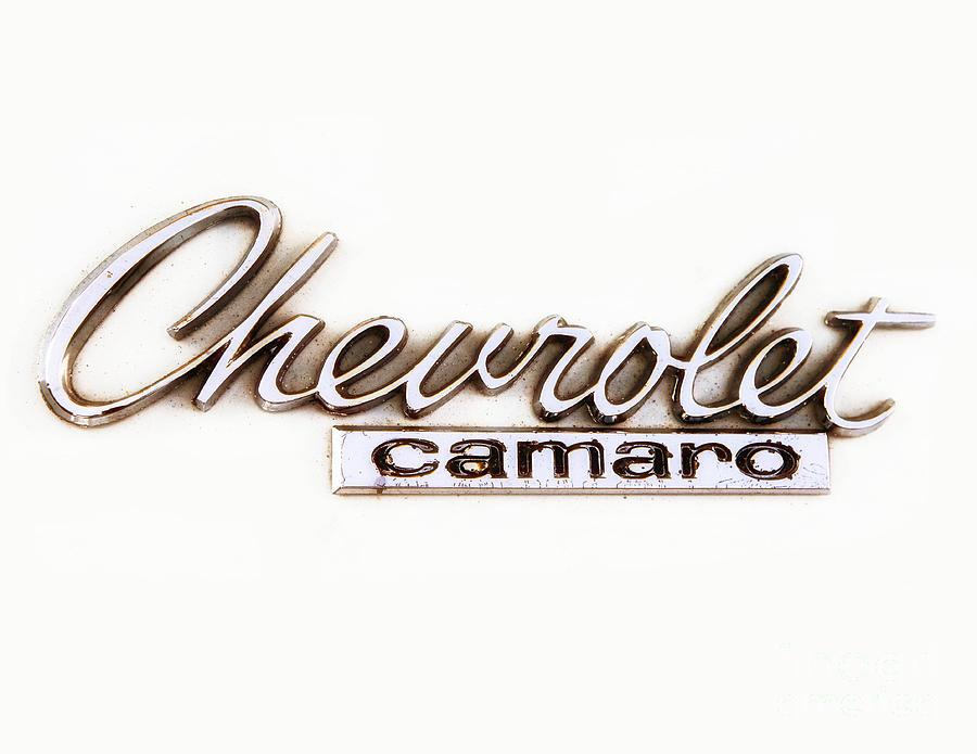 Chevrolet Camaro Emblem Photograph