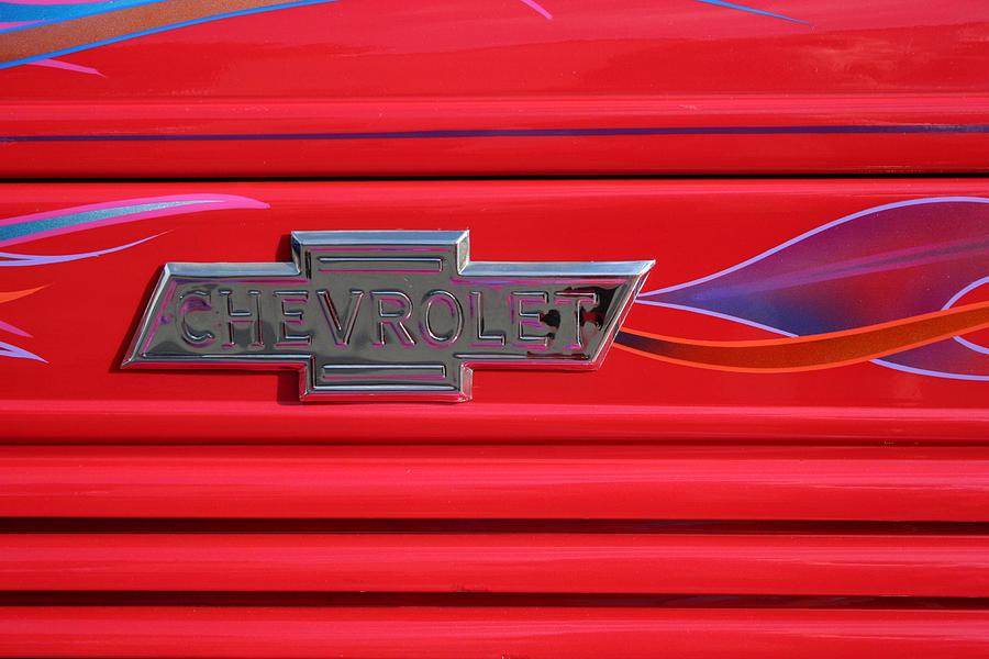 Chevrolet Emblem Photograph