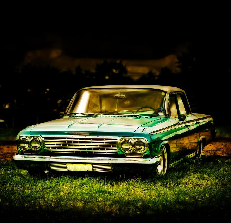 Chevy Impala Photograph - Chevrolet Impala by motography aka Phil Clark