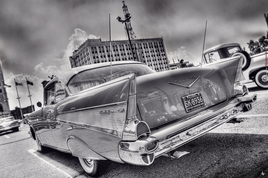 Chevy Bel Air Photograph  - Chevy Bel Air Fine Art Print