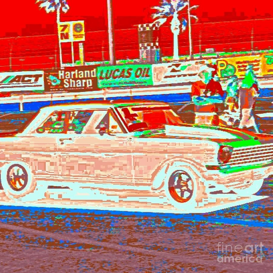 Art By James Eye Photograph - Chevy Shoe Box by James Eye