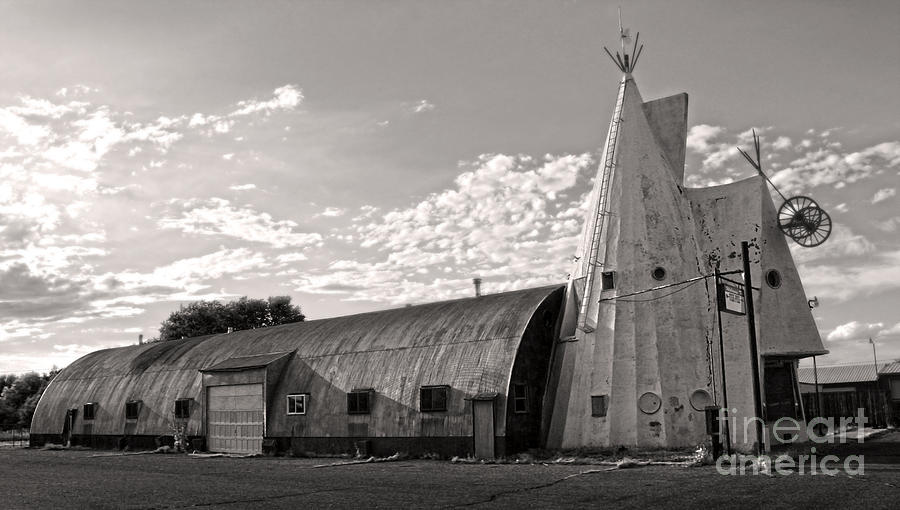 Cheyenne Photograph - Cheyenne Wyoming Teepee - 02 by Gregory Dyer