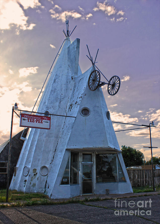 Cheyenne Wyoming Teepee - 03 Photograph