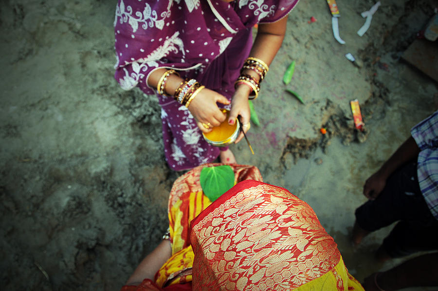 Chhath Worship Photograph
