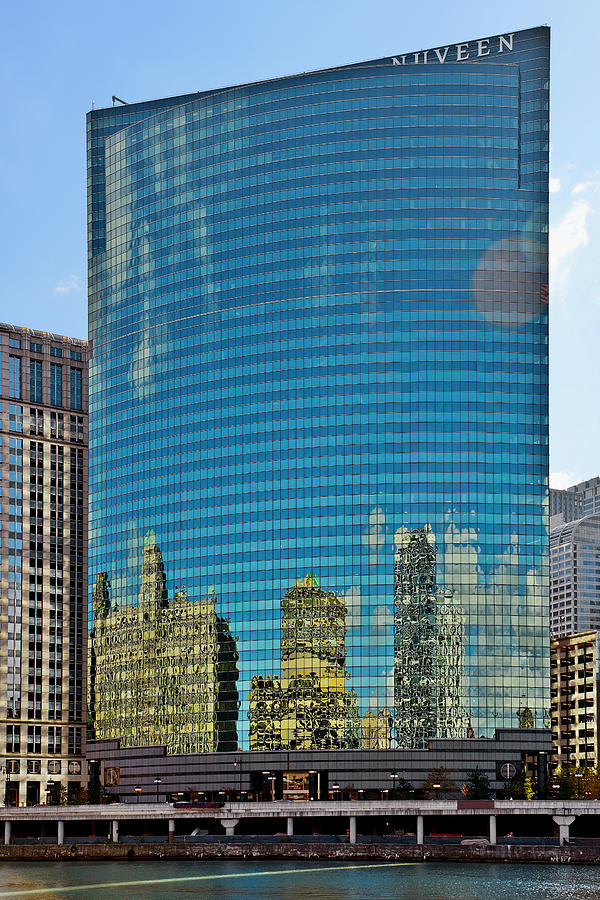Chicago - 333 West Wacker Drive Photograph  - Chicago - 333 West Wacker Drive Fine Art Print
