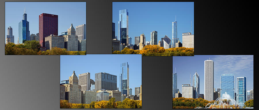 Chicago City Of Skyscrapers Photograph