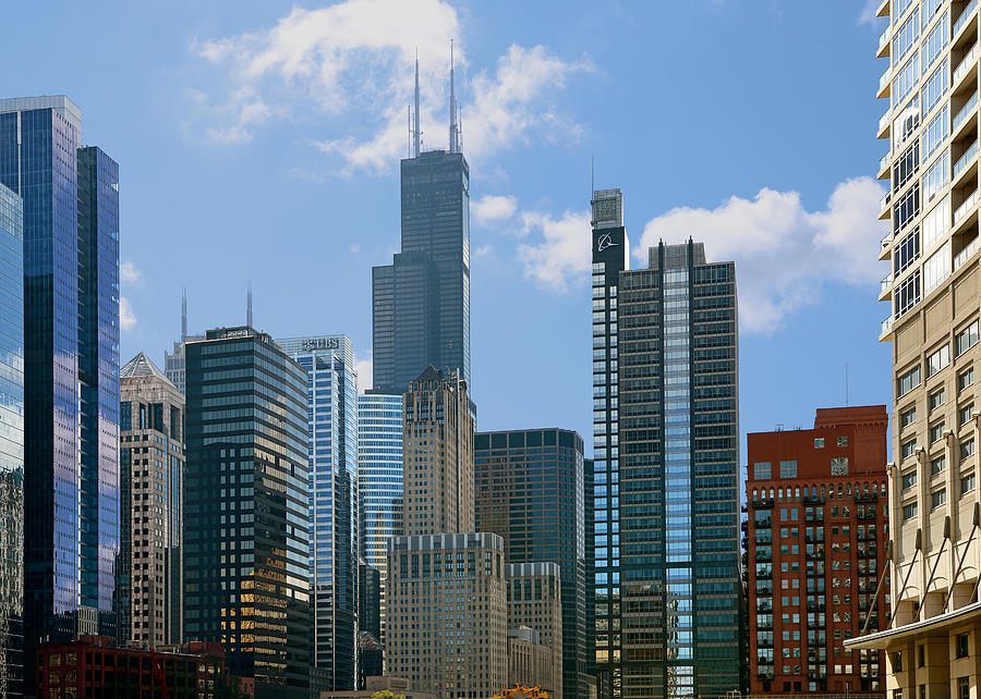 Chicago - Its Your Kind Of Town Photograph