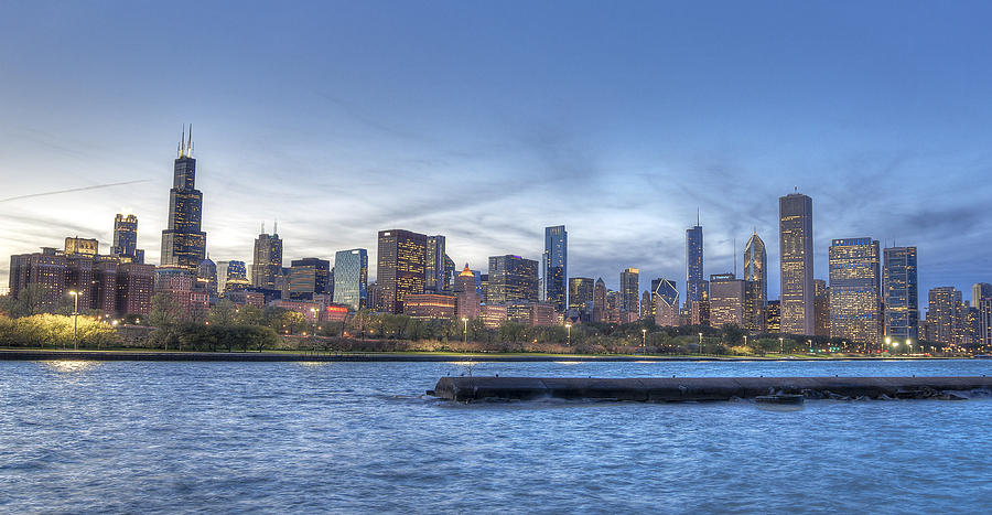 Chicago Skyline Photograph