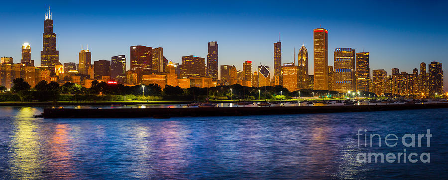 Chicago Skyline Photograph