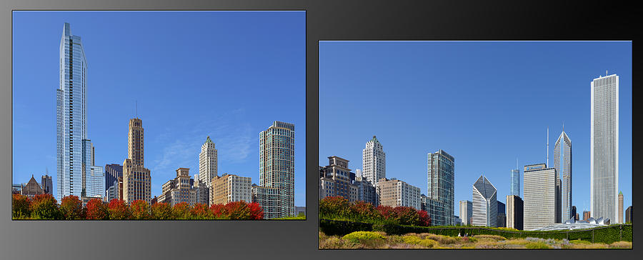 Chicago Skyline Of Superstructures Photograph