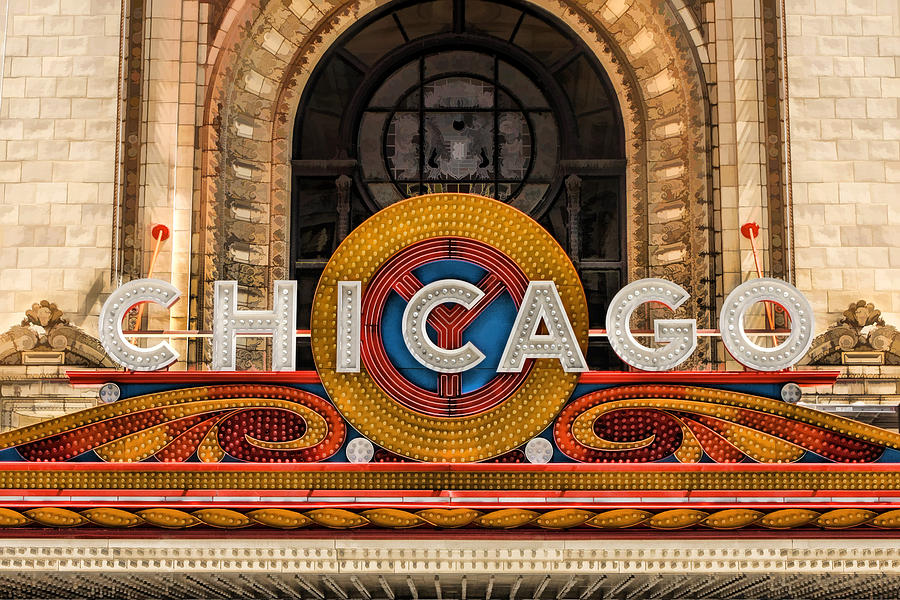The Chicago Theatre Marquee Tour May