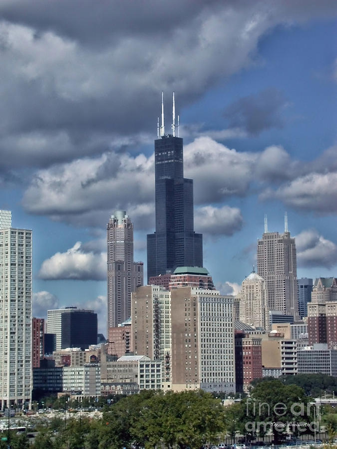 Chicago Willis Sears Tower Photograph By Thomas Woolworth