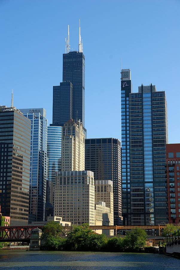 Chicago Willis Tower Photograph By Steven Richman