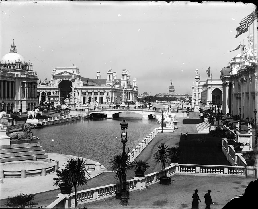Chicago Worlds Columbian Exposition 1893 Photograph