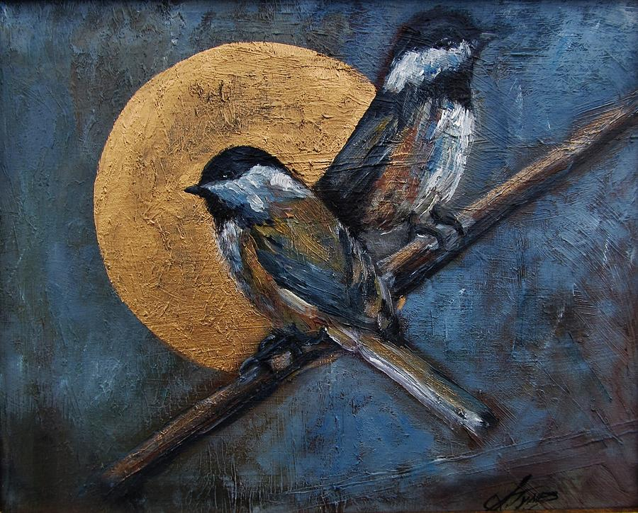 Chickadee Painting  - Chickadee Fine Art Print