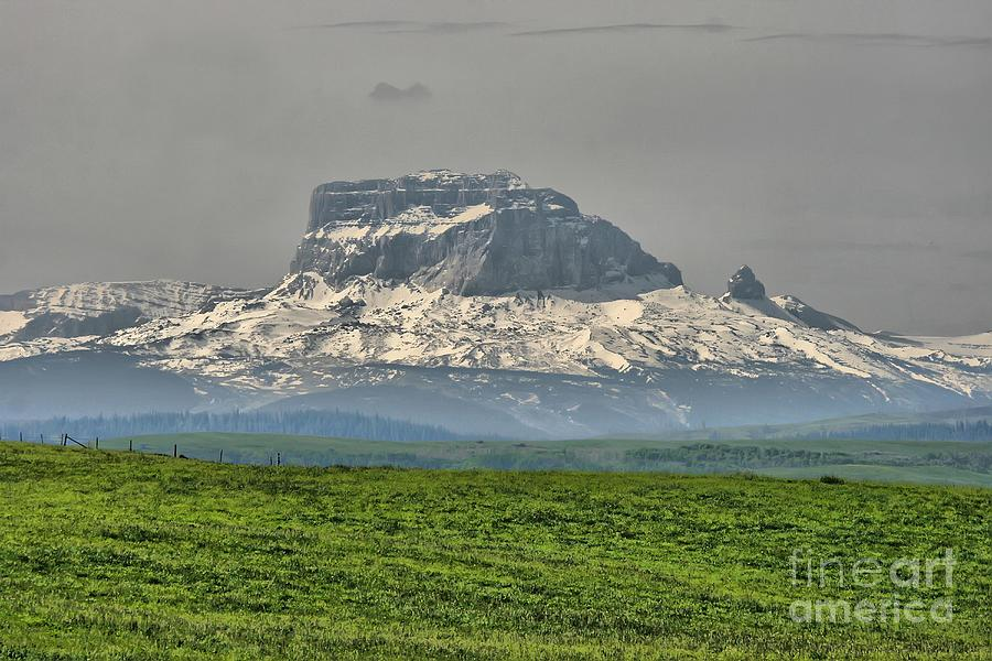 Chief Mountain Montana Photograph  - Chief Mountain Montana Fine Art Print