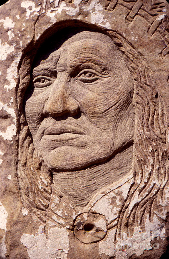 Chief-washakie Sculpture