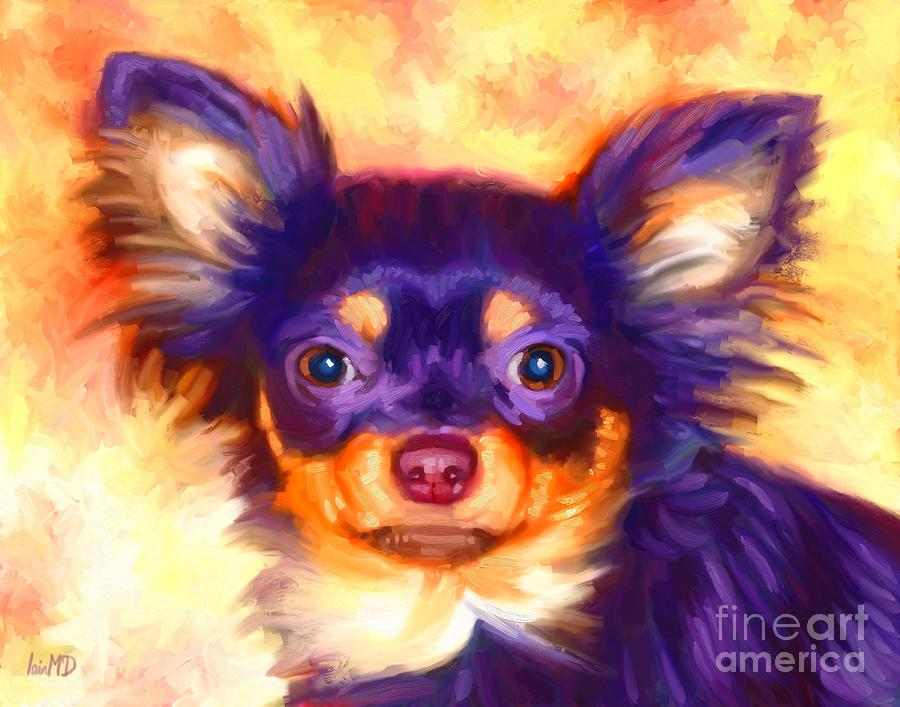 Chihuahua Art Painting