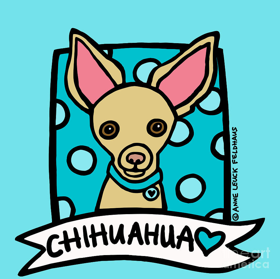 Chihuahua Love Digital Art