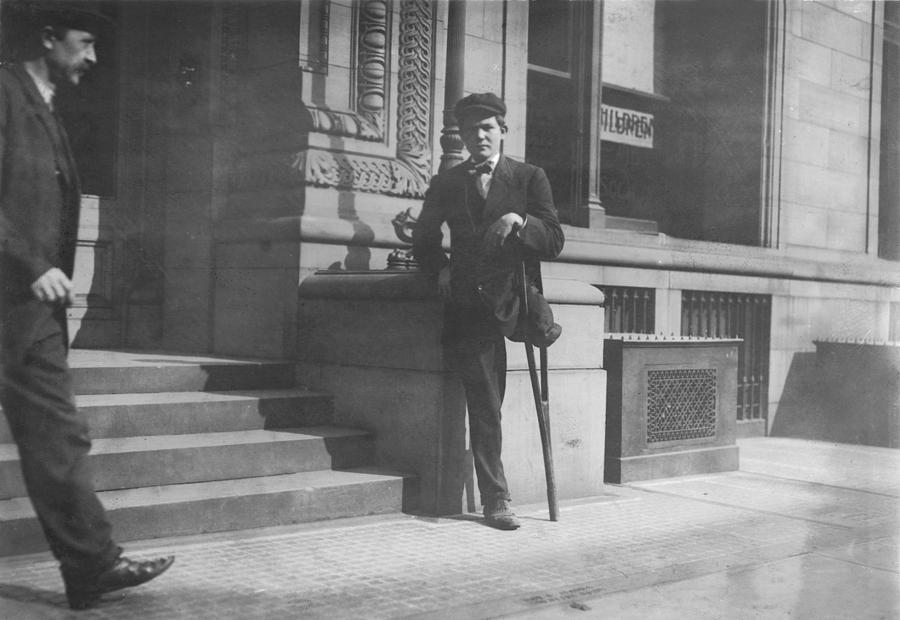 Child Labor, Boy With One Leg, Neil Photograph