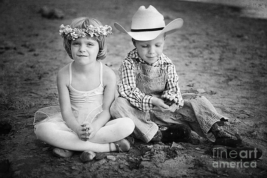 Childhood Photograph  - Childhood Fine Art Print
