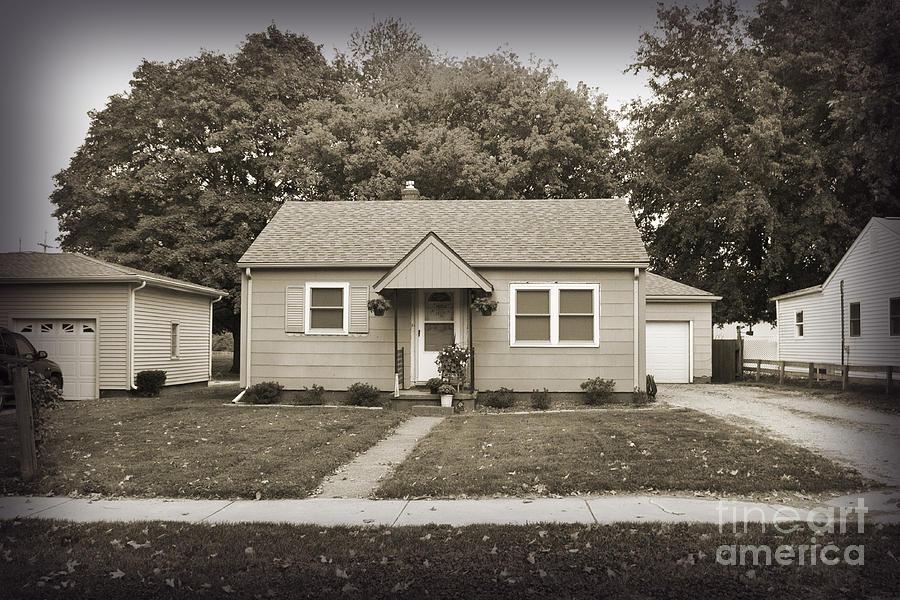 Childhood Home Photograph