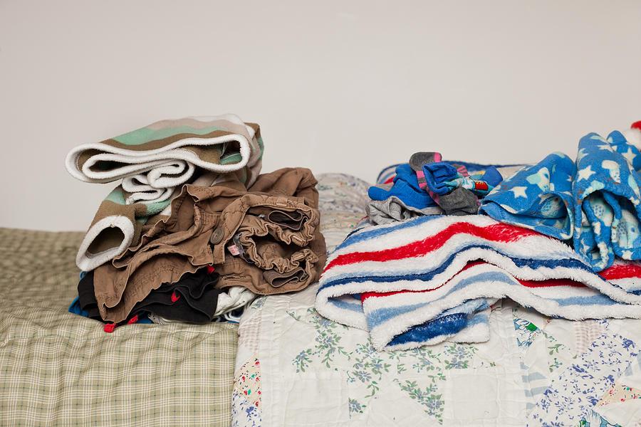 Childs Clothes Photograph