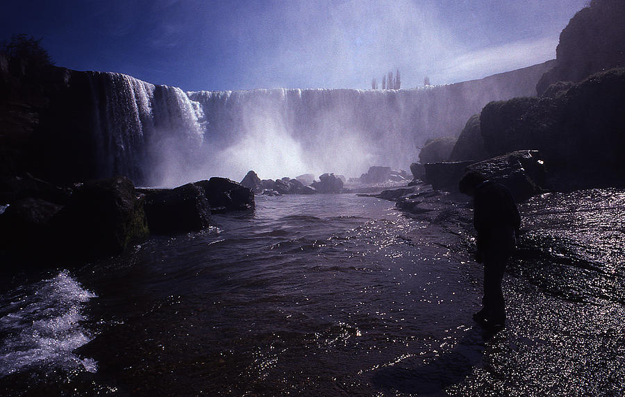 Chilean Waterfalls Photograph