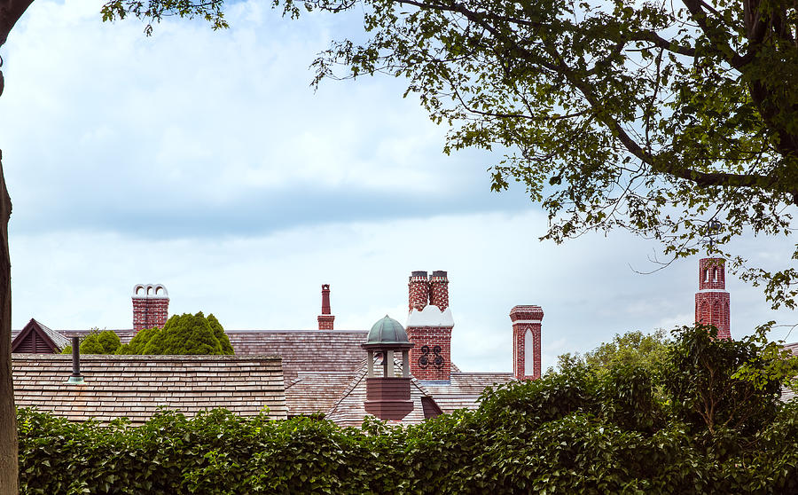 Architecture Photograph - Chimneys by John M Bailey