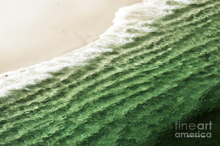 China Beach Wave Photograph