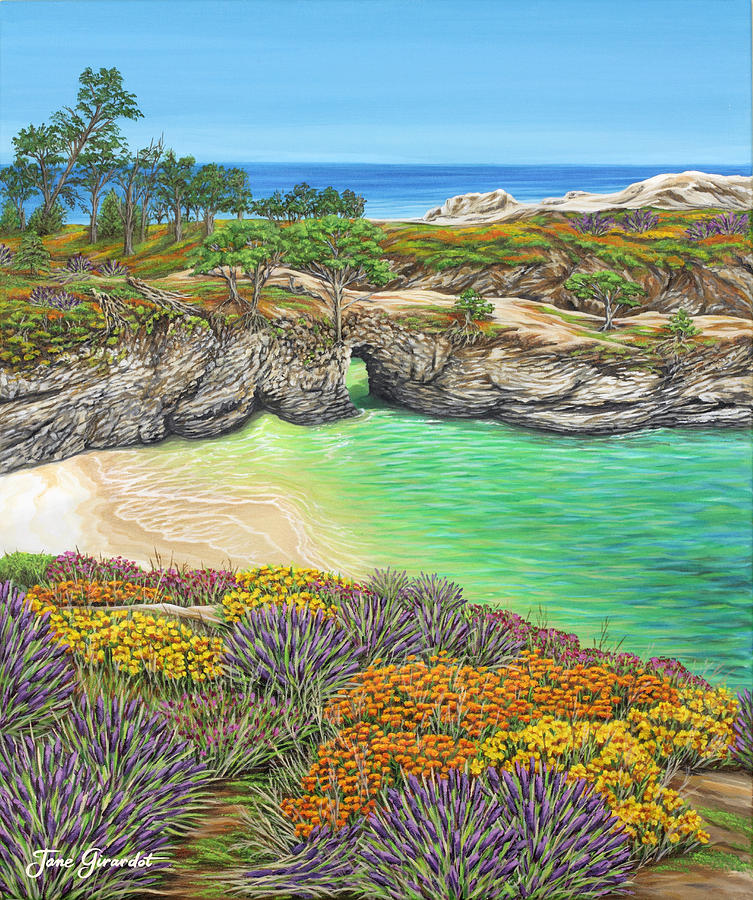 China Cove Paradise Painting