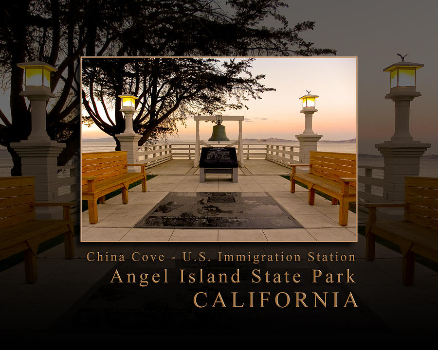 China Cove - Usis - United States Immigration Station Angel Island State Park California Photograph  - China Cove - Usis - United States Immigration Station Angel Island State Park California Fine Art Print