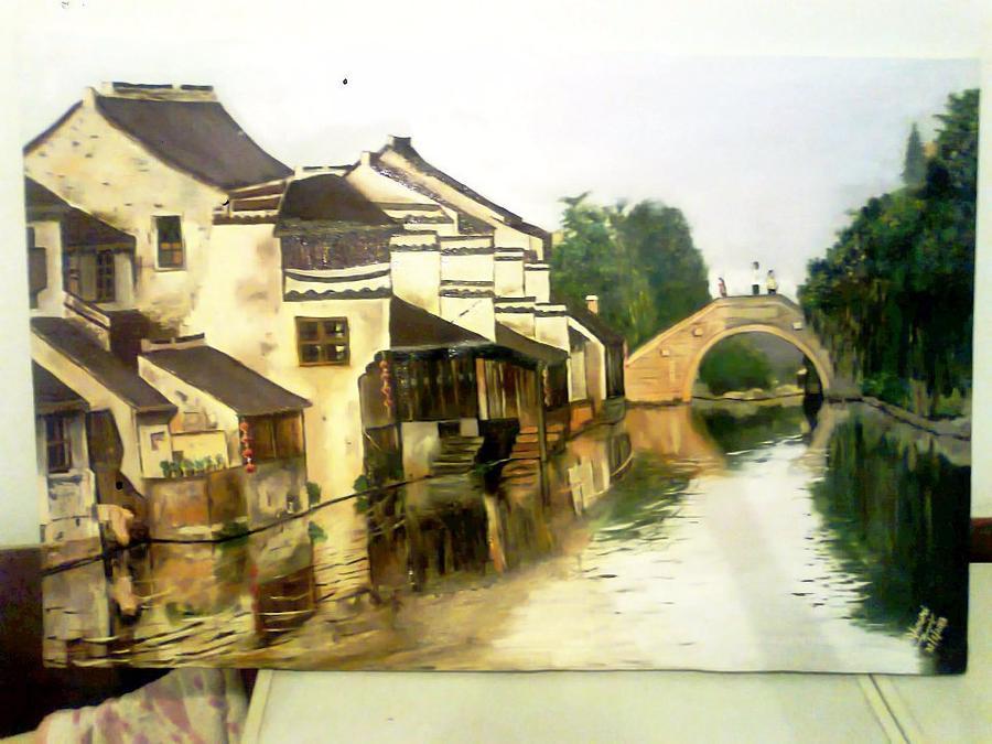 China Village Painting