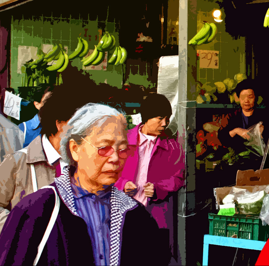 Chinatown Marketplace Photograph