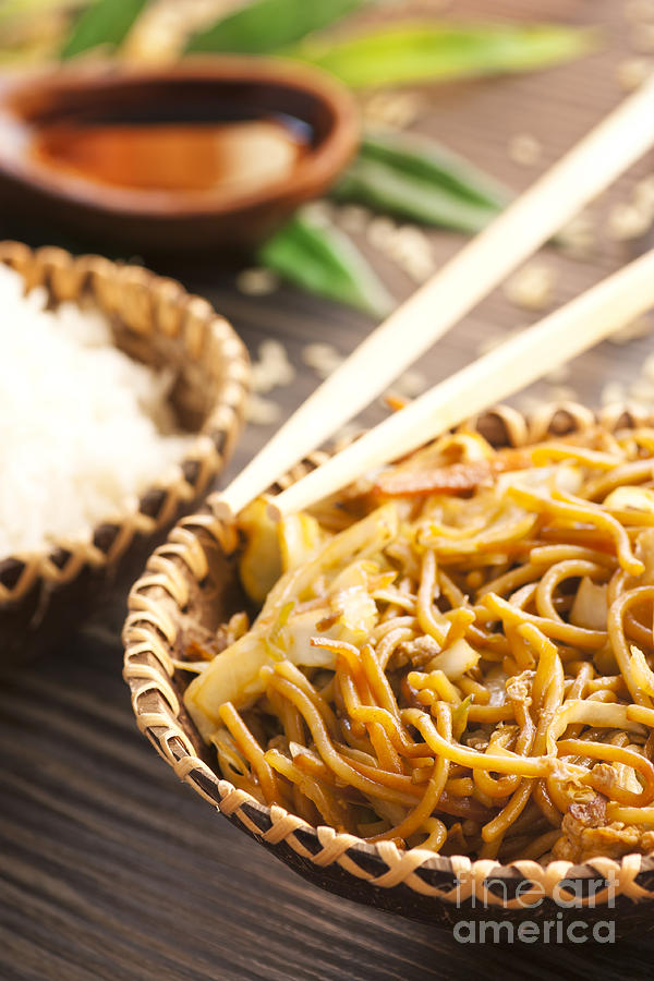 Chinese Food Photograph