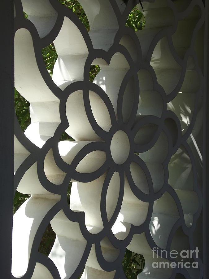 Chinese Garden Window Photograph