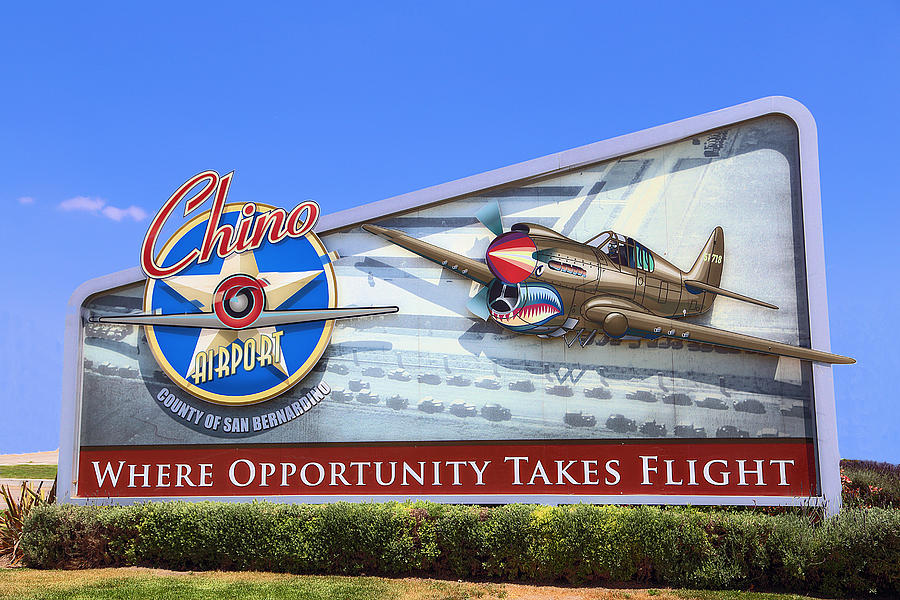 Chino Airport Photograph  - Chino Airport Fine Art Print