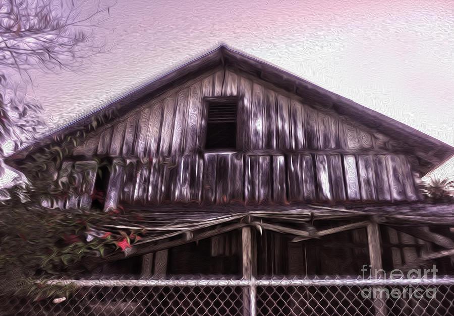 Chino Haunted Barn Painting