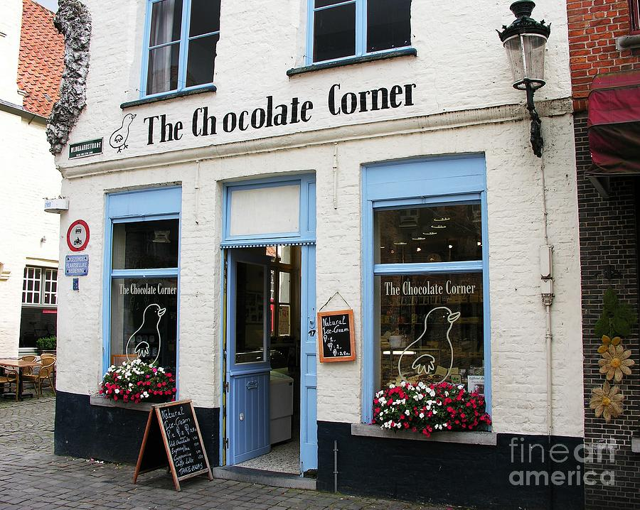Chocolate Corner Photograph  - Chocolate Corner Fine Art Print