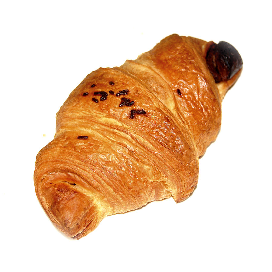 Chocolate Croissant Photograph By Gina Dsgn