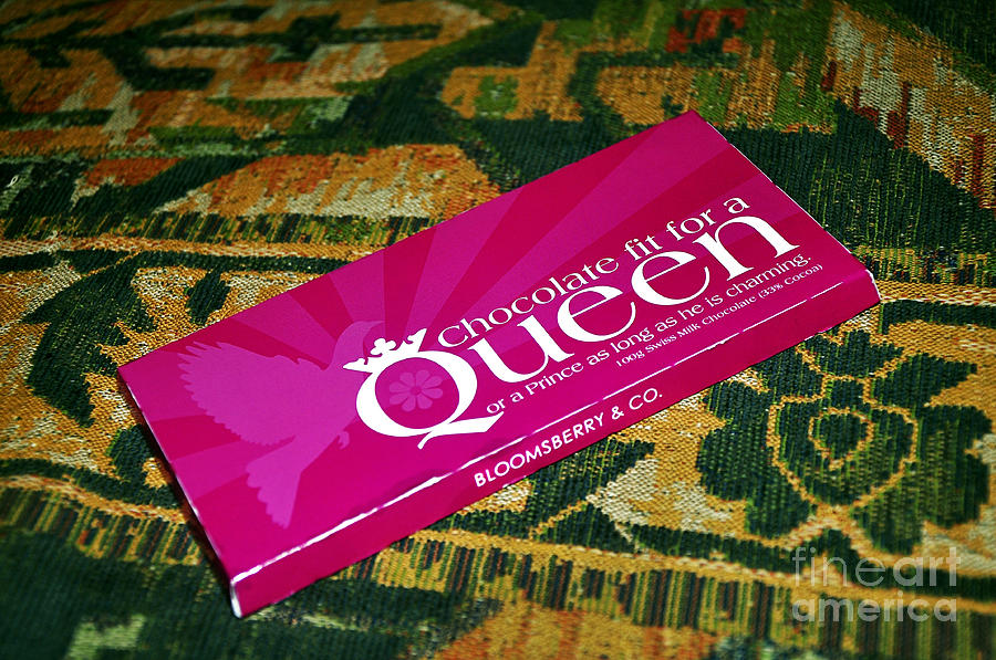 Chocolate Fit For A Queen Photograph  - Chocolate Fit For A Queen Fine Art Print