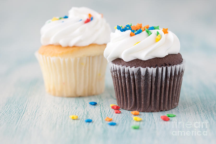 Cupcake Photograph - Choices by Kay Pickens