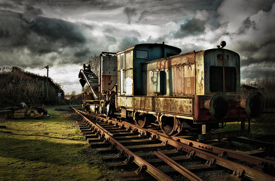 Train Photograph - Choo Choo by Jason Green
